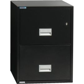 Vertical 31 inch 2-Drawer Letter Fire and Water Resistant File Cabinet